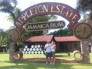 Enjoying a day of rum tasting- Jan 16,2015
